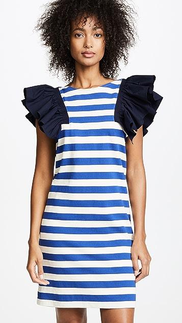 Sea St. Tropez 拼接连衣裙