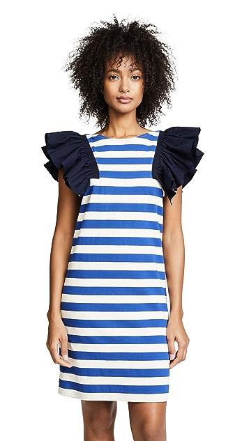 Sea Комбинированное платье St. Tropez