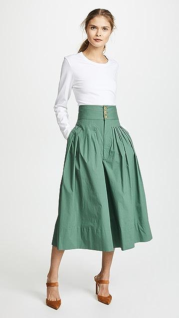 Sea Micro Pleated Pants