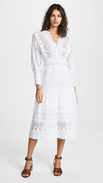 Ila Lace Armour Maxi Dress by Sea