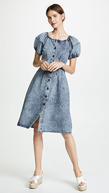 Sea Jocelyn Acid Wash Dress