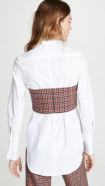 Sea Corset Combo Shirt