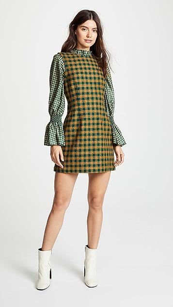 Sea Ethno Combo Dress