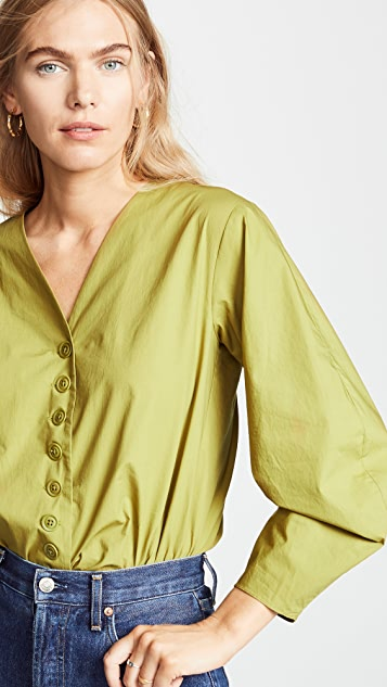 Sea Calah Cotton Origami 女式衬衫