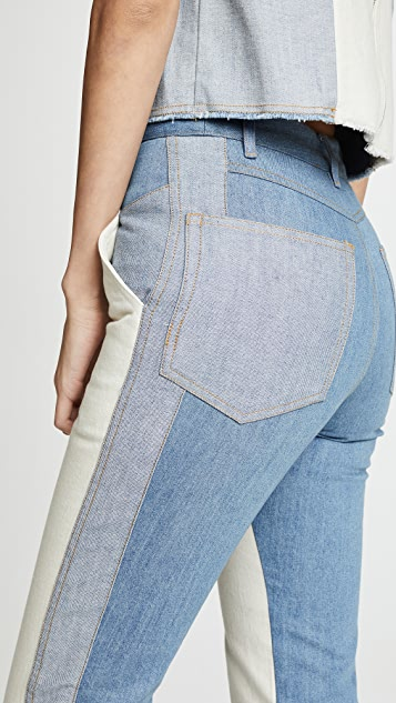 Sea Deja Colorblock Jeans