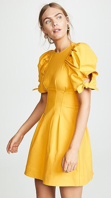 Sea Мини-платье Lennox с объемными рукавами
