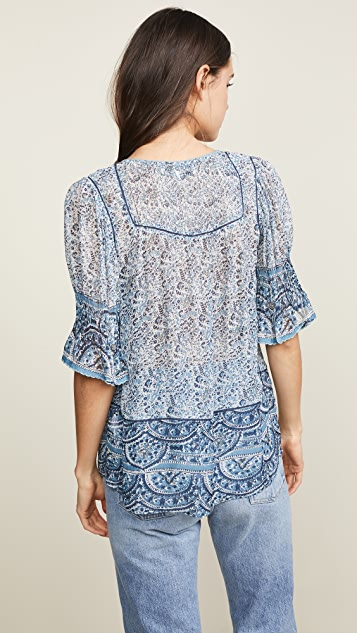 Sea Tops Bella Short Sleeve Top