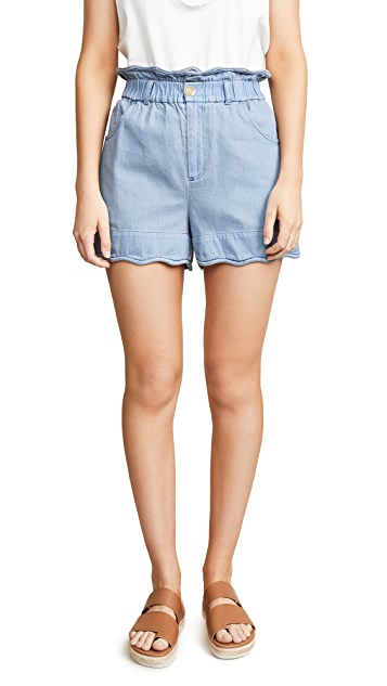 Sea Shorts Dakota Scalloped Shorts