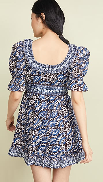 Sea Dresses Luella Long Sleeve Scoop Neck Dress