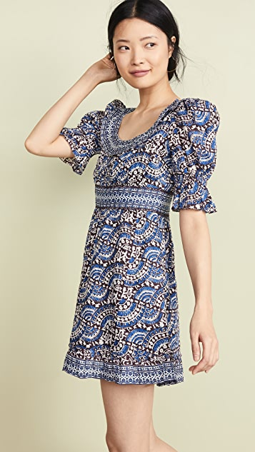 Sea Luella Long Sleeve Scoop Neck Dress