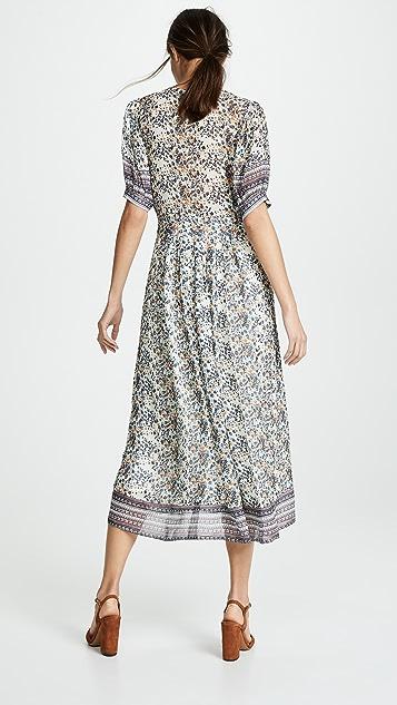 Sea Миди-платье Maya с короткими рукавами
