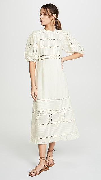 Sea Dresses Poppy Pintuck Midi Dress