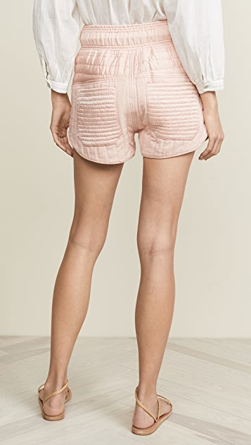Sea Romy Quilted Shorts