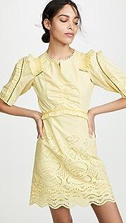 Sea Naomie Puff Sleeve Mini Dress