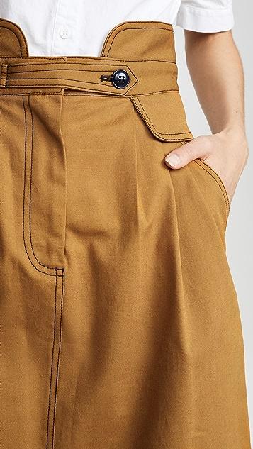 Sea Stevie Midi Skirt