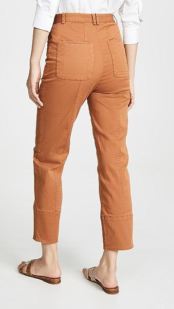 Sea Kali 绗缝裤子