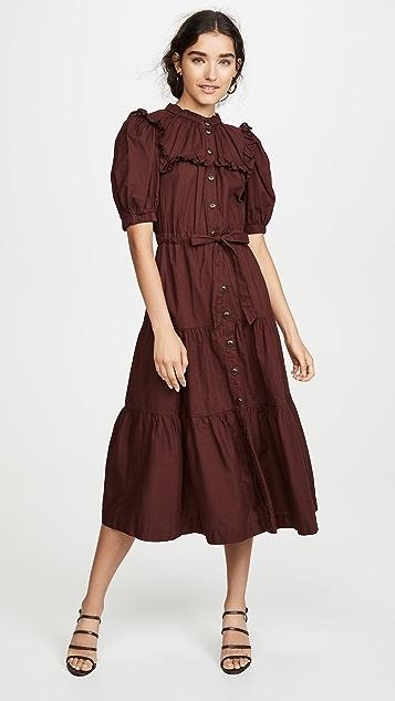 Sea Многоуровневое платье Rumi