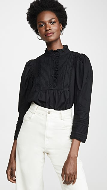 Silva Puff Sleeve Blouse by Sea