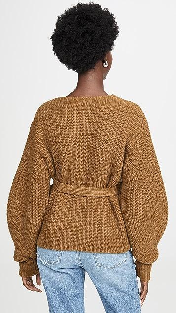 Sea Классический свитер Nellie с объемными рукавами