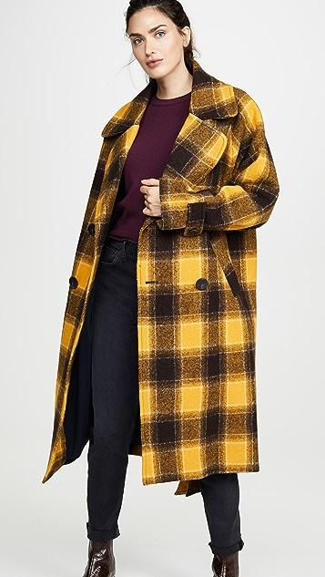 Sea Amber Belted Coat