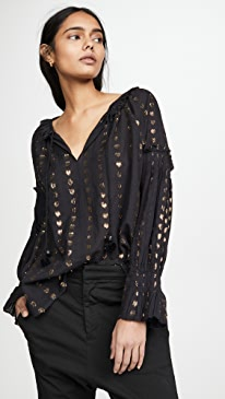 Laura Long Sleeve Blouse