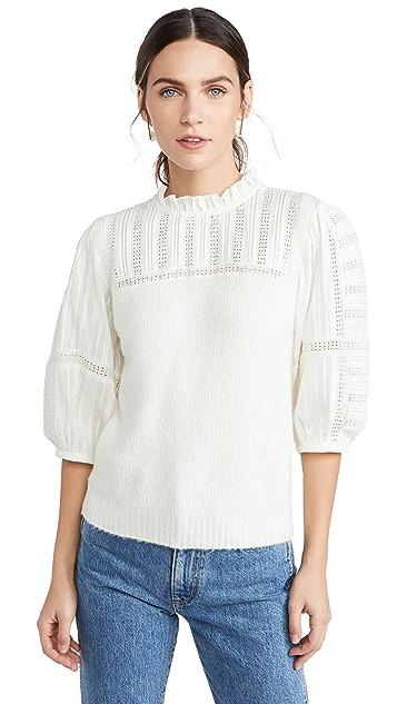 Sea Pascale Combo Sleeve Sweater