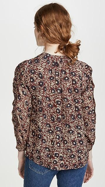 Sea Lucia 荷叶边女式衬衫