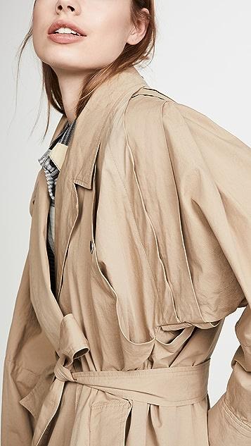 Sea Gabriette Pleated Coat