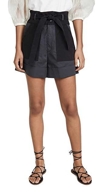 Sea Gabriette Combo Shorts