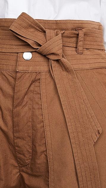 Sea Gabriette 拼接短裤