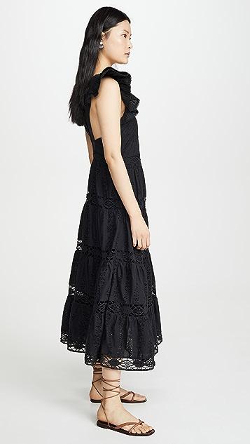 Sea Lea 荷叶袖连衣裙