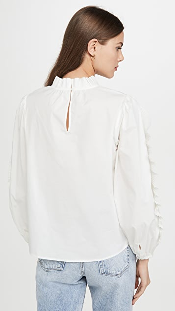 Sea Tabitha Pleated Blouse