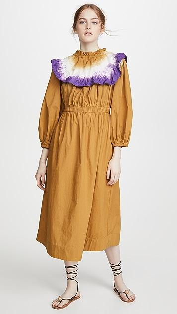 Sea Zelda Long Sleeve Dress
