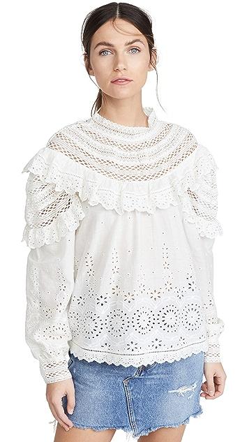Sea Daisy Long Sleeve Top