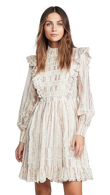 Sea Harriet Long Sleeve Ruffle Dress