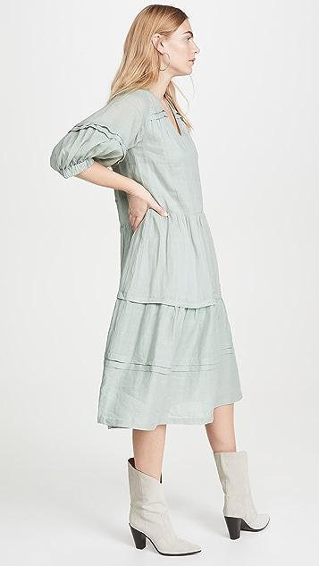 Sea Lucy 长袖中长连衣裙