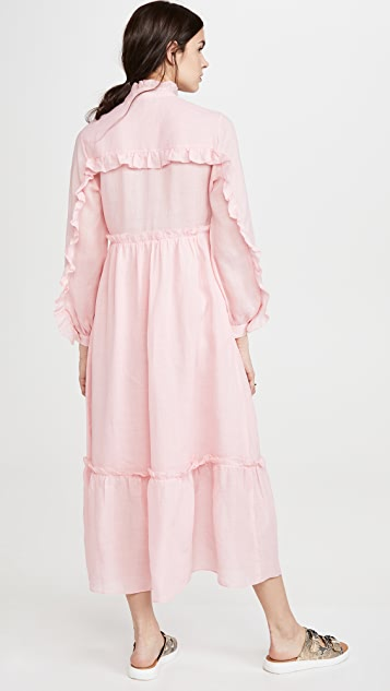 Sea Lucy 长袖长连衣裙