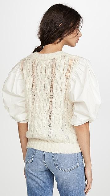 Sea Clarise Combo Sweater