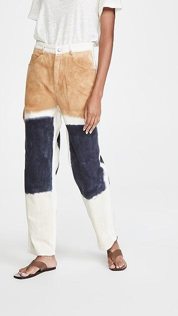 Sea Tandi 块染长裤