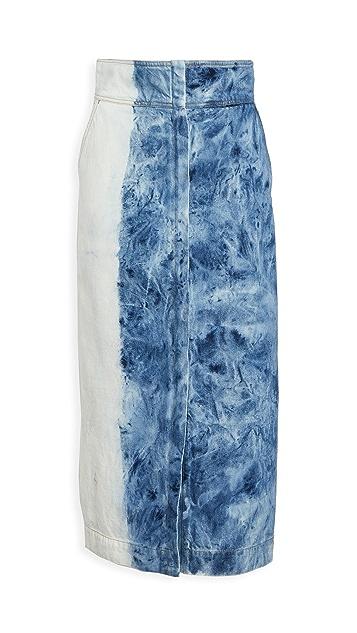 Sea Doris 长款半身裙