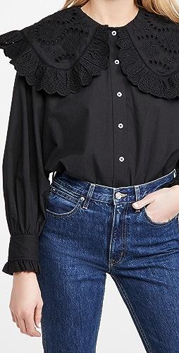 Sea - Marina 蕾丝衣领衬衫