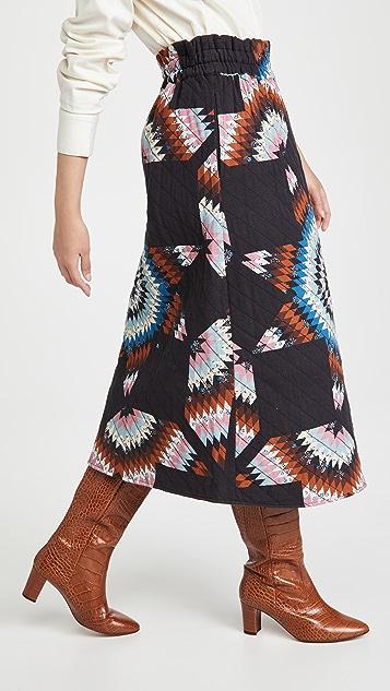 Sea Lindstrom 绗缝半身裙