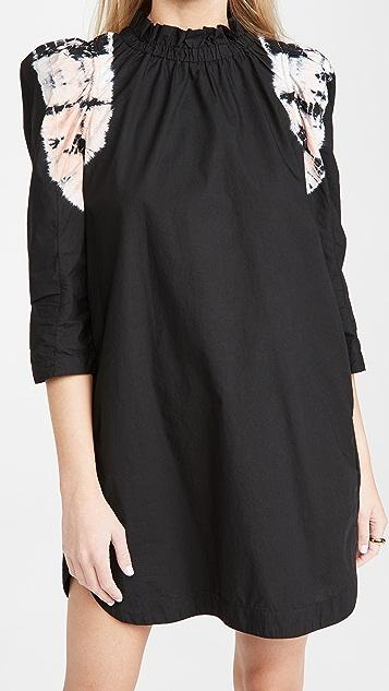 Sea Daria Dye Puff Sleeve Dress