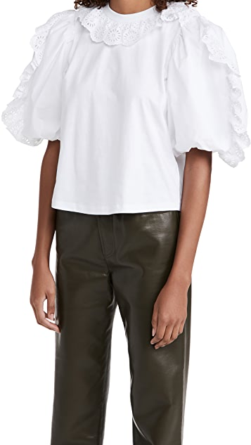Sea Elodie Puff Sleeve T-Shirt