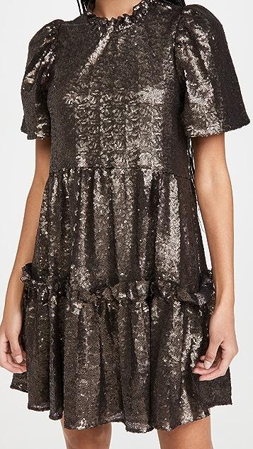 Sea Rachelle Puff Sleeve Tunic Dress