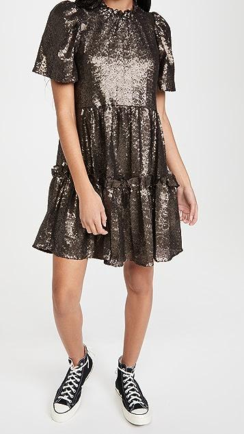 Sea Rachelle 泡泡袖长款上衣式连衣裙