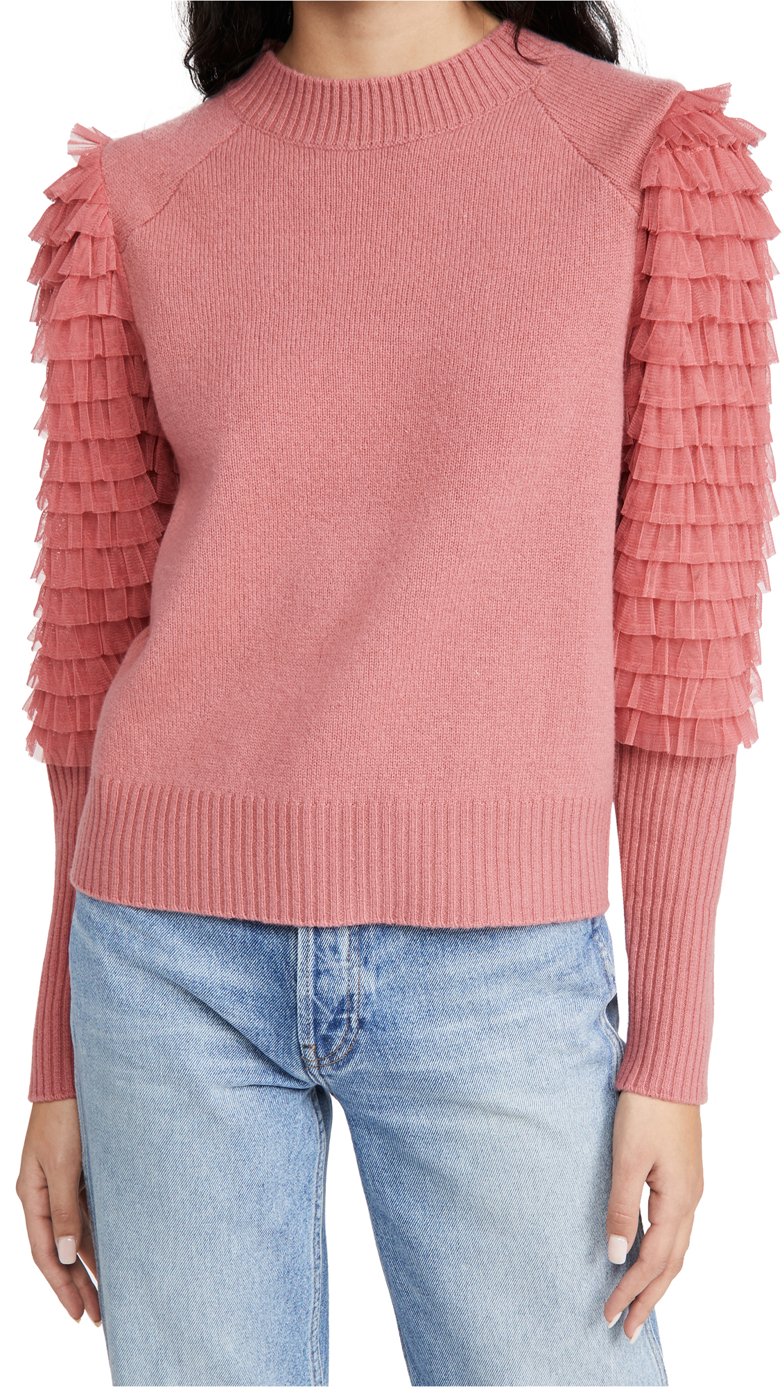 Sea Novia Embellished Princess Sweater