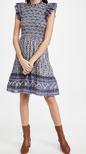 Sea Verbena Smocked Dress