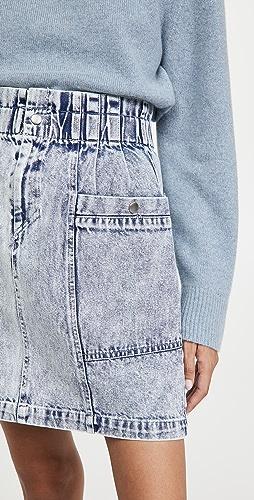 Sea - Betty Acid Wash Mini Skirt