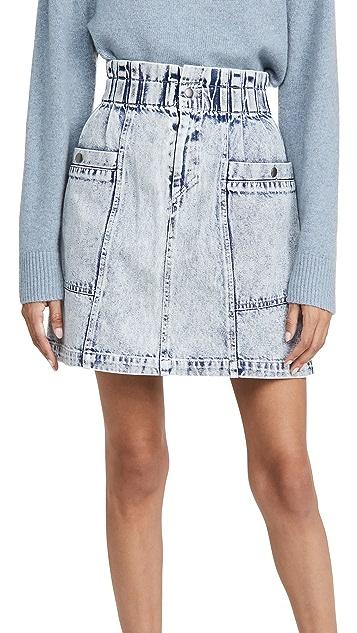 Sea Betty Acid Wash Mini Skirt